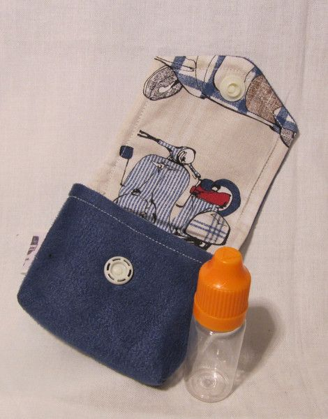 Taschenorganizer - Liquid-Täschchen, Liquid-Etui, Tripple-Dip - ein Designerstück von Dampfer-Taschen-Joclame bei DaWanda