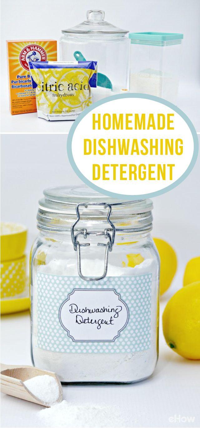 Homemade Powdered Dishwashing Detergent Recipe