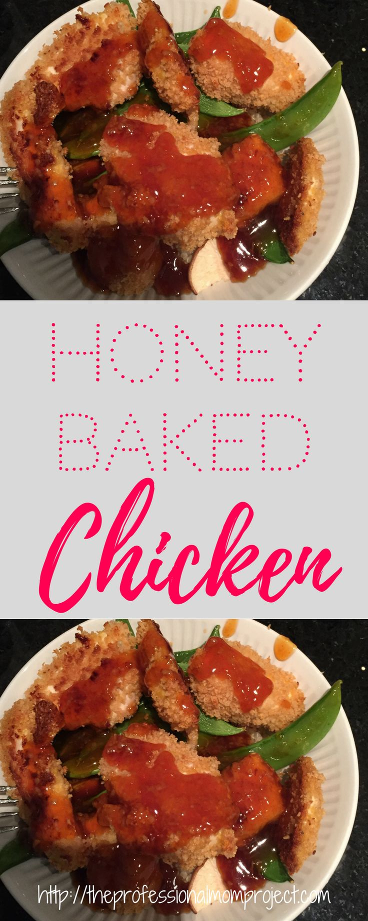 Easy honey baked chicken with roasted vegetables and quinoa - perfect for a quick weeknight dinner | healthy food | dinner idea | easy recipe | chicken recipe #dinner #chicken #healthymeal