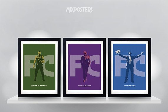 Hey, I found this really awesome Etsy listing at https://www.etsy.com/listing/606209323/far-cry-triple-pack-poster-minimalist