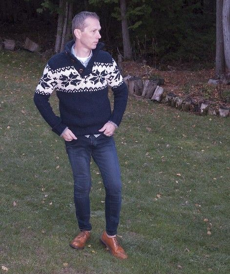 Carl Campion - H&M Skinny Jeans, Steve Madden Brogues Shoes - Cold Morning