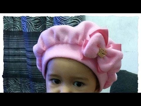 Passo a Passo Boina para bebê Do RN até 2 anos DIY By Patrícia Yida - YouTube
