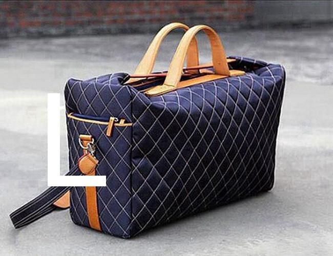 2017 Fashion Vintage Travel Bag for Men Polyester Lattice Duffle Bag Hand Luggage Business Travel Bags Totes sac de voyage L479