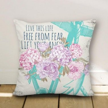 White canvas and light linen pillow cover