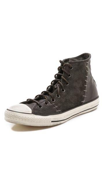 Converse x John Varvatos JV Stapled All Star Hi-Top Sneakers