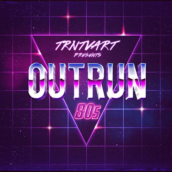 Outrun 80's (New Retro Wave Community) on Behance