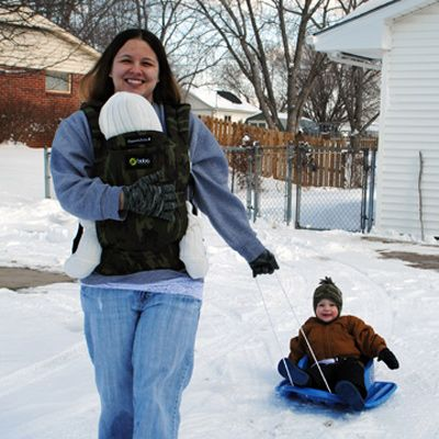 Cold Weather and Winter Babywearing