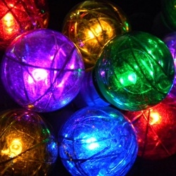 Make Globe String Lights : 17 Best images about String Globe Lights on Pinterest Mercury glass, String lights and Dance ...