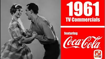 1961 - Coca Cola - vintage 1960s TV Commercials featuring swing dancing and a soda shop!