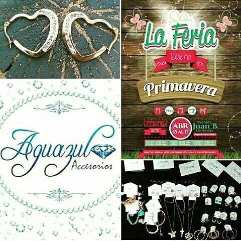,@aguazul_accesorios tiene el agrado de invitarlos para que nos acompañen en @laferiapereira él 15-16-17 de Abril en la Av.Juan B gutierrez PEREIRA NOS VEMOS