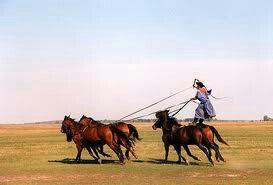 Horseriding on the pusta