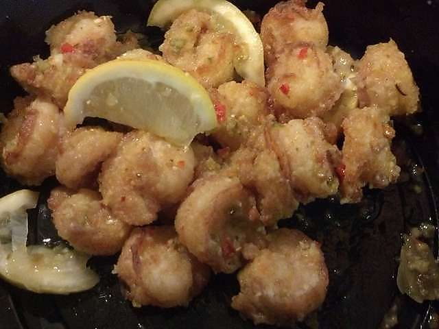 Spicy Shrimp Fritta Food Seafood Fish Shellfish Pinterest Gardens Olives And Shrimp