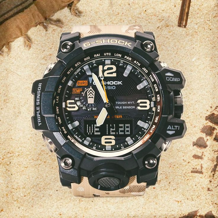 G-Shock GWG-1000DC-1A5 with Desert Camouflage Band