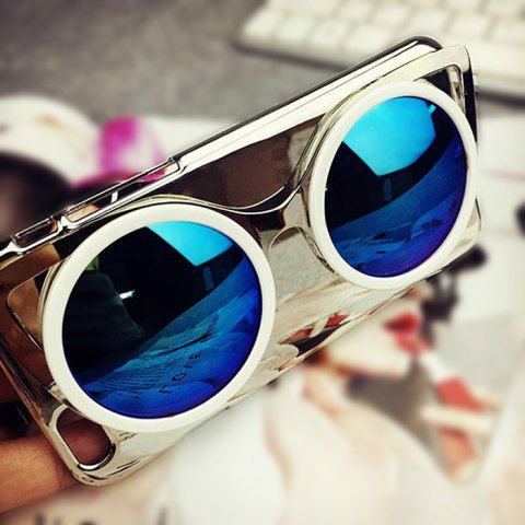 Personality 3D Sun Glasses Protective Back Cover Case for iPhone 6 Plus / 6S Plus Fashion Design