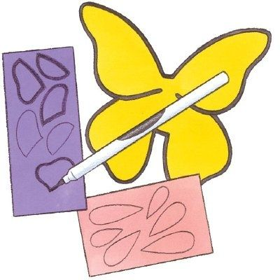 Butterfly Autograph Book #butterfly #crafts #books