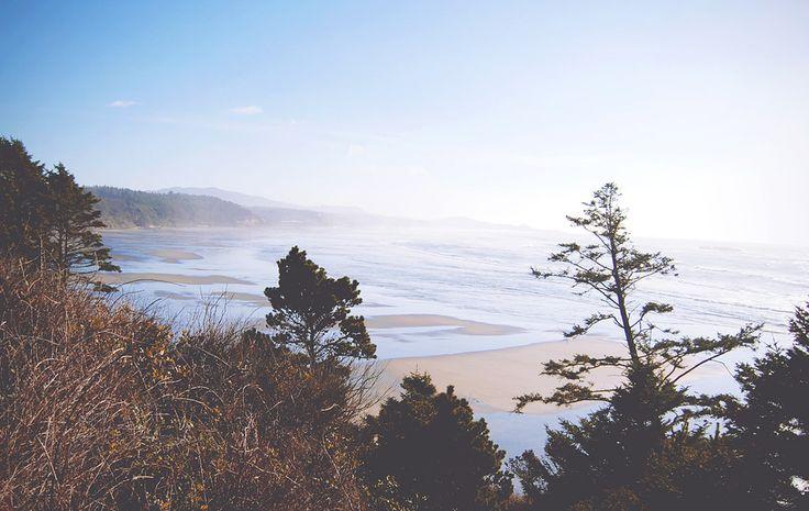 De kust van Oregon nabij Lincoln Beach | via It's Travel O'Clock