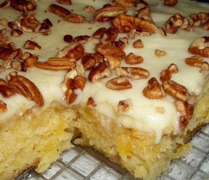 Оригинальный «Самый простой Ананасовый торт» - МирТесен