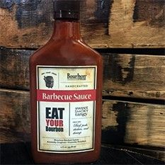 Bourbon Barrel Foods Barbecue Sauce  Eat your Bourbon! A new BBQ sauce from Bourbon Barrel Foods! It's sweet, smoky and tangy. Made with Bourbon Smoked Spices, Sweet Sorghum and Kentucky Bourbon. Ideal with beef, pork, chicken and shrimp.