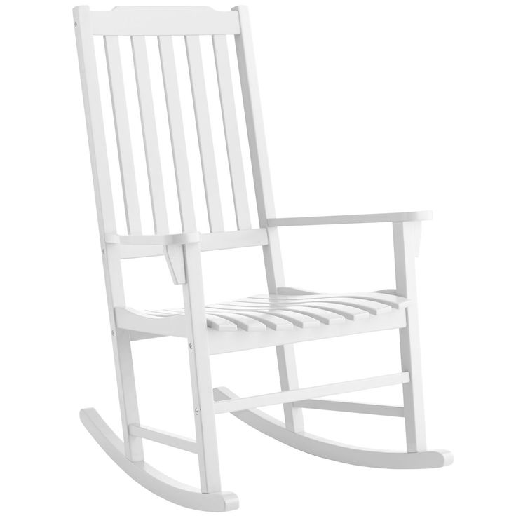 Rock Point White Rocking Chair | Pier 1 Imports