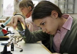 Pick a science fair project idea that has personal interest to you. - Andreas Rentz, Getty Images
