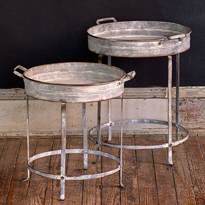 PERFECT for so many uses, this tray table will be a great addition to any space! Use these Accent tables to add a unique vintage touch or even uses these as cocktail tables for drinks and snacks! For more visit, www.decorsteals.com OR www.facebook.com/decorsteals.