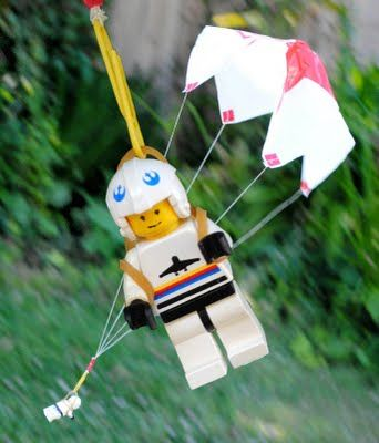 How to Make a Parachute for your lego guy