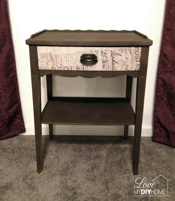 Antique Night Stand re-do
