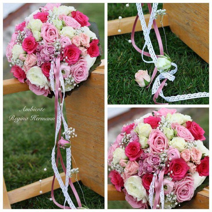 26 best Brautstrauß images on Pinterest | Flower decorations ...