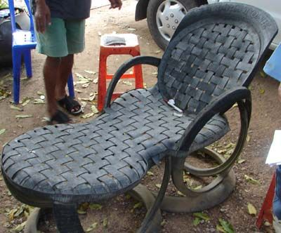 70 best tire furniture images on pinterest recycle tires for Tyre furniture