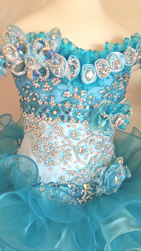 Glitz pageant dress