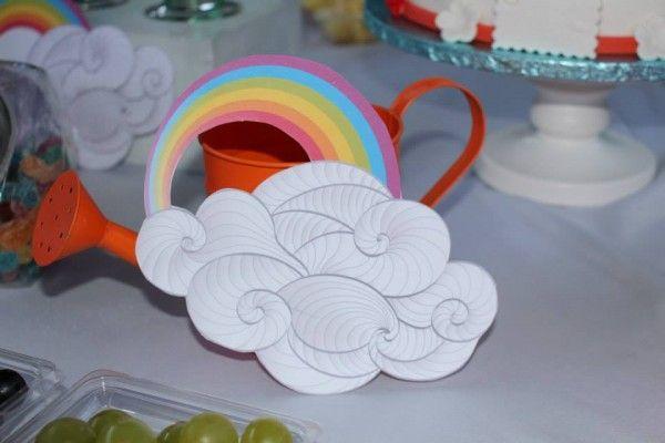 Rainbow Party : une sweet table ou un candy bar sur le thème de l'arc-en-ciel