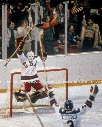 1980 OLYMPIC USA HOCKEY JIM CRAIG MIRACLE ON ICE 8x10 PHOTO