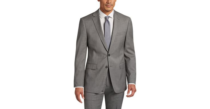 Check this out! Calvin Klein Gray Extreme Slim Fit Suit - Men's Slim Fit from MensWearhouse. #MensWearhouse