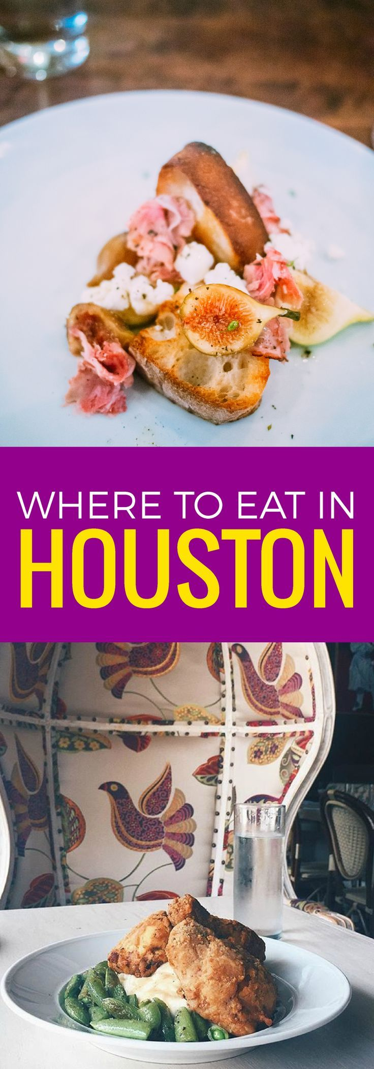 Houston is for food lovers, but you have to know where to go, check out the best restaurants in Houston.. ~ http://www.baconismagic.ca