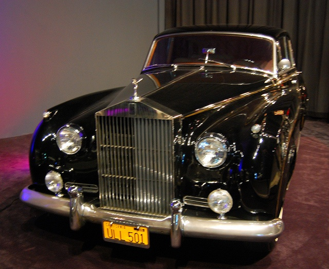 Elvis Presley's Rolls Royce Limousine At the Graceland Mansion In Memphis, Tennessee
