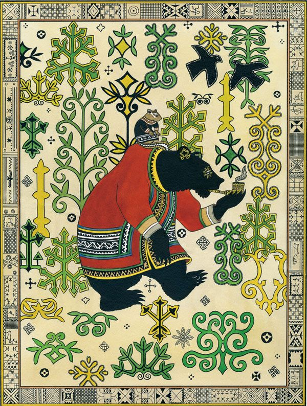 'Folktales of the Amur: Stories from the Russian Far East' by Dmitriĭ Nagishkin, illustrated by Gennadiĭ Pavlishin