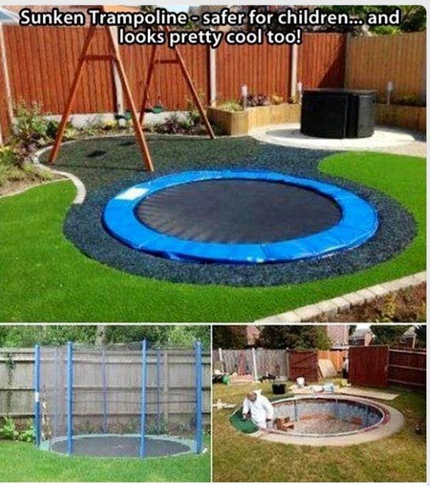 Cool backyard idea! I really LOVE this idea...