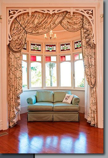 please do NOT have curtains like this, style perhaps but keep it single colour