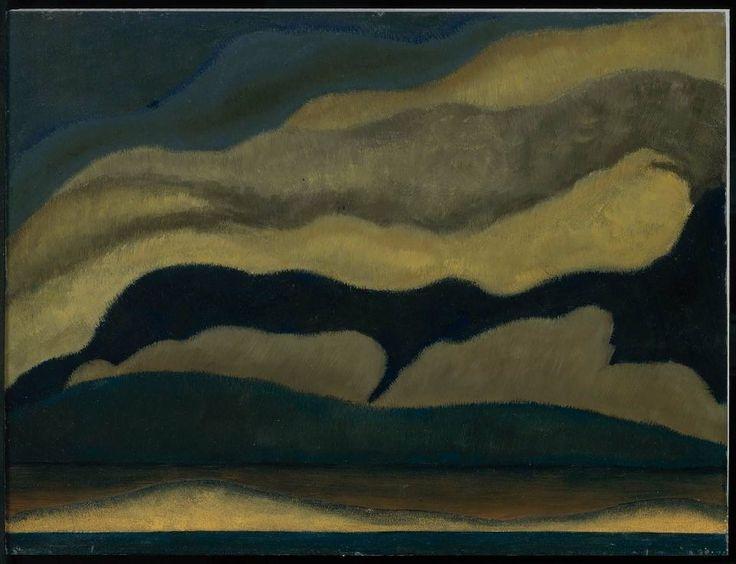 Clouds, 1927:  Arthur Dove