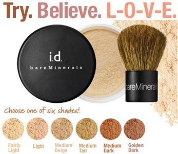Indeed I tried, BELIEVE and now LOoOoOoVe Bare Minerals!!! What's my favorite??? ALL OF IT!!!!