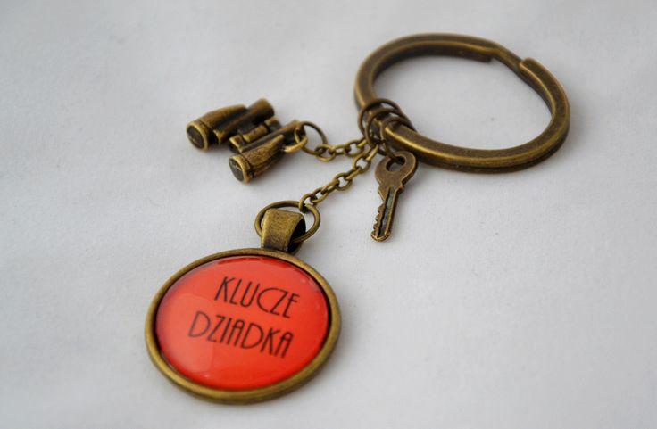"""Brelok do kluczy dla Dziadka """"LORNETKA""""  https://www.facebook.com/bajbook"""