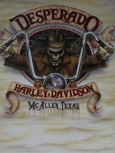 Desperado Harley Davidson, I need a shirt from here..