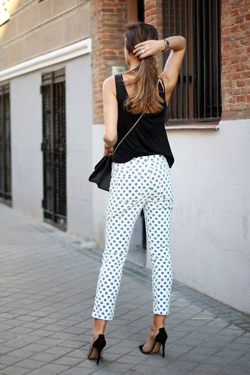Zara White And Blue Women's Skinny Polka Dot Trousers  # #LadyAddict #Fashion Summer Trends #Women's Fashionista #Best Of Summer Apparel #Zara #Trousers Polka Dot #Polka Dot Trousers #Polka Dot Trousers White and Blue #Polka Dot Trousers Zara #Polka Dot Trousers Skinny #Polka Dot Trousers Women's #Polka Dot Trousers Clothing #Polka Dot Trousers 2014 #Polka Dot Trousers OOTD #Polka Dot Trousers How To Style