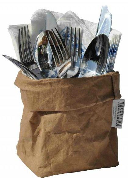 buffet-idee: Washable Paper Bags voor bestek