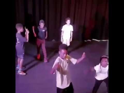 Blue Ivy Dancing at Julez's 13th Birthday 22nd October 2017