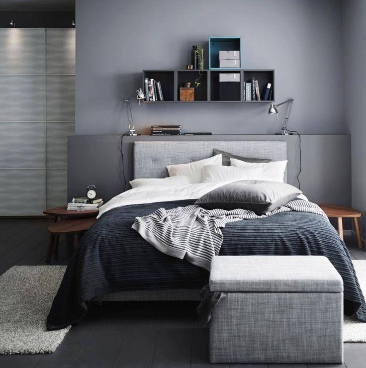 Schlafzimmer Wandfarbe Grau 18: Wohnen Und Einrichten Mit Der Trendfarbe