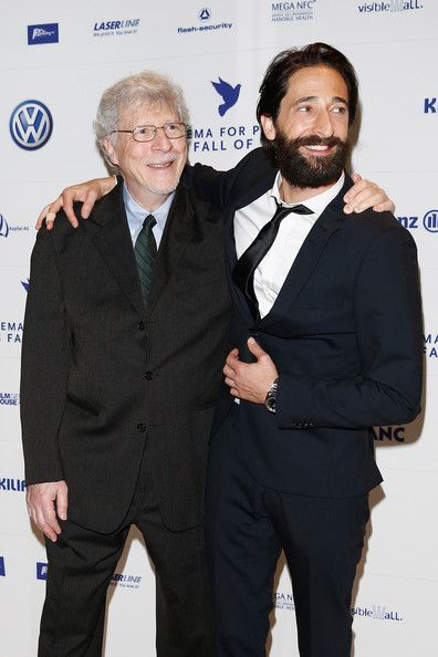Adrien Brody Photos - (L-R) Elliot Brody and his son Adrien Brody attend the Cinema for Peace HEROES Gala at Hotel Adlon on November 8, 2014 in Berlin, Germany. - HEROES Gala Berlin