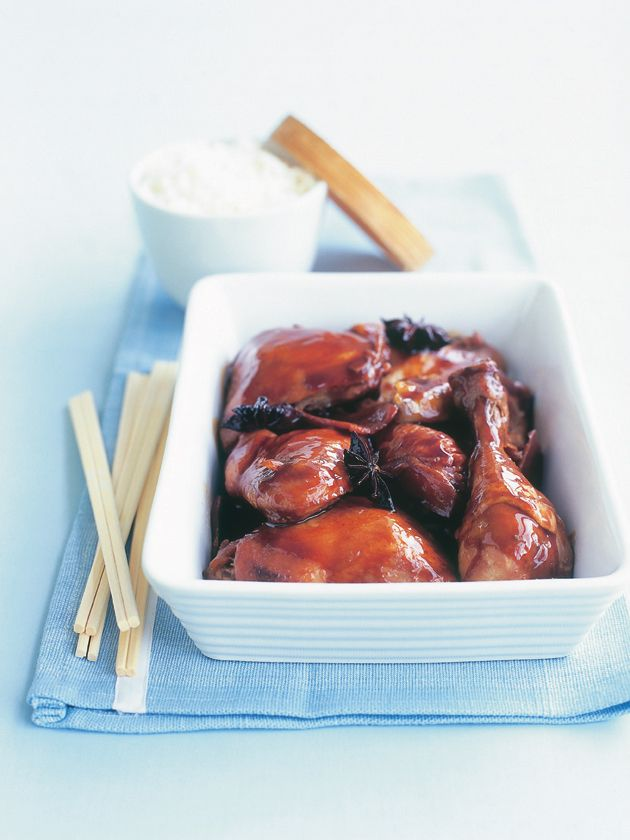 sticky chinese chicken