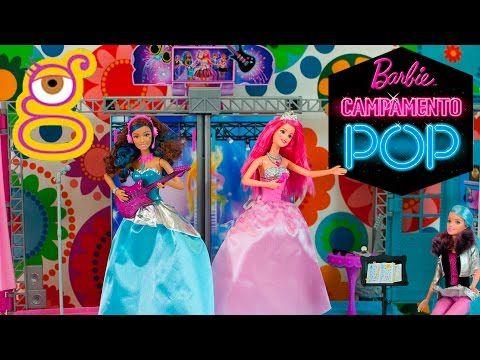 Barbie Escenario Campamento Princesas Campamento Pop Rock - Barbie Rock ...