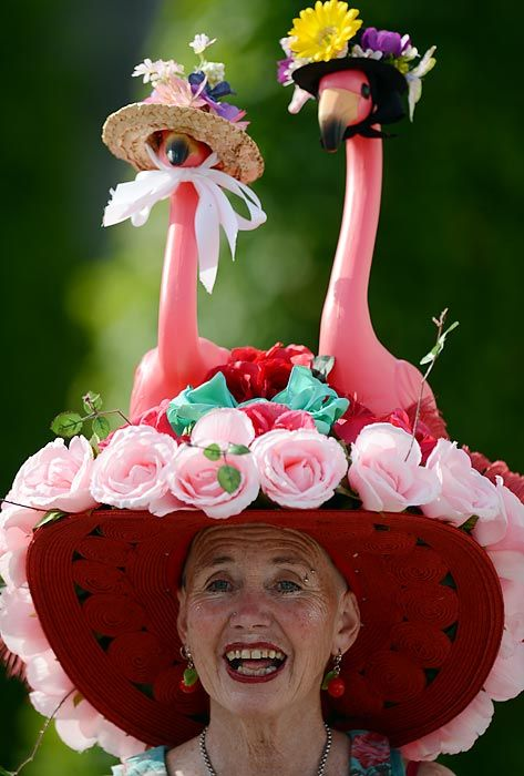 kentucky derby hat | Wild Hats at the Kentucky Derby